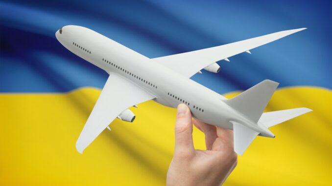 Airplane in Ukraine